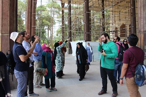 برگزاری کارگاه آموزشی بین المللی آشنایی با نقوش هندسی اسلامی ایرانی در اصفهان