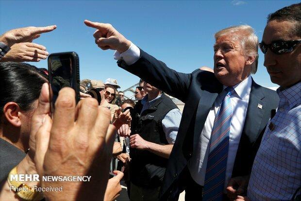 اعلام سیاست مهاجرتی جدید آمریکا از سوی ترامپ