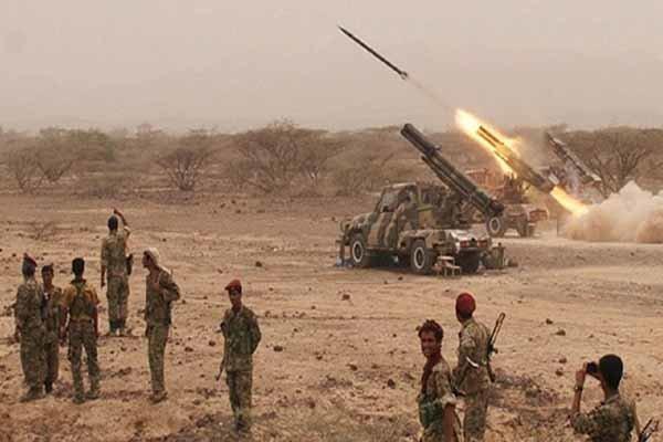 تسلط ارتش و کمیته های مردمی یمن بر 70 درصد شهر قعطبه در الضالع